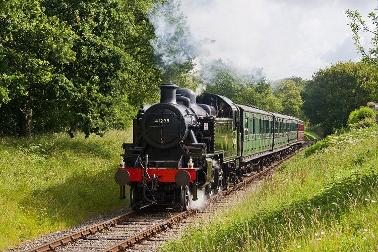 2 Ivatt 41298 test run by John Faulkner