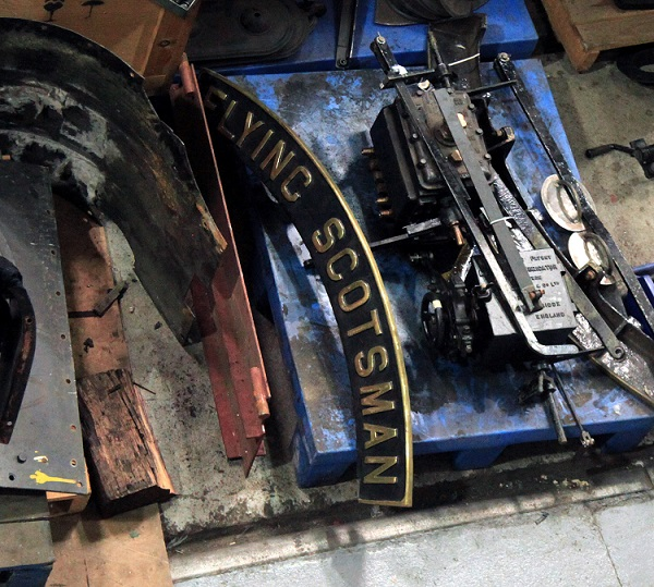 1 Flying Scotsman in pieces at the NRM by Phil Marsh