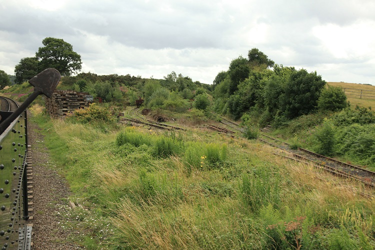 5 stourport branch and PWay sidings looking towards Kidderminster Phil Marsh