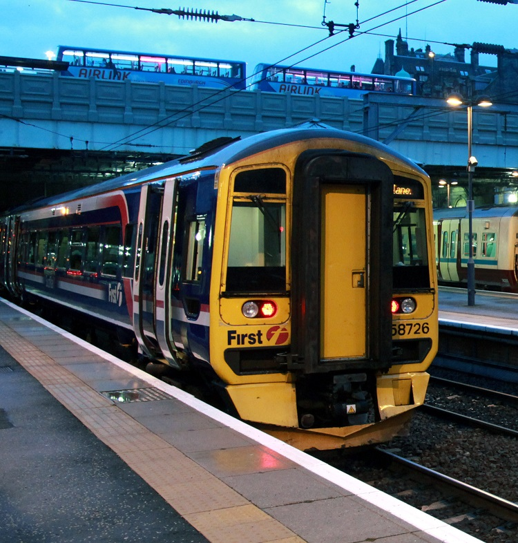 4 First Scotrail service at Edinburgh Phil Marsh