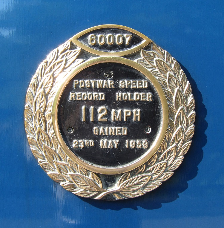 1 60007 World Speed record plaque by Phil Marsh