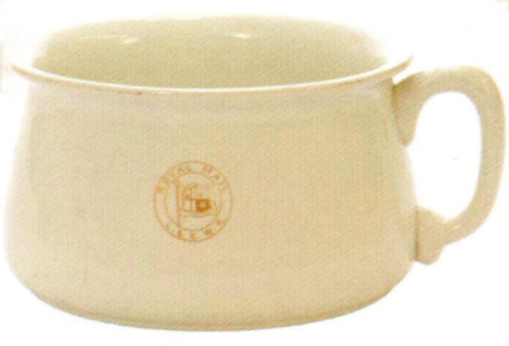 2 London South Western Railway Chamber pot