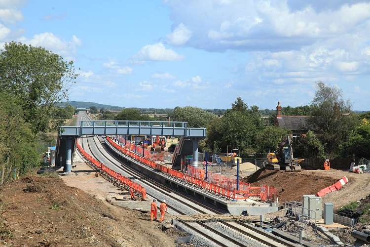 1 Brand new railway Islip station looking towards Bicester Phil Marsh