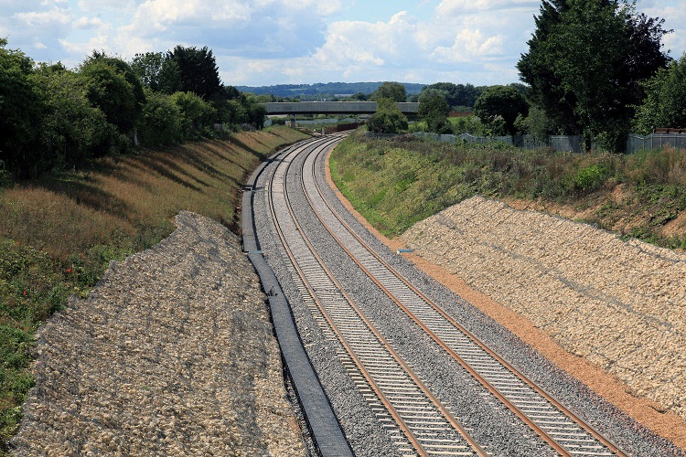 3 brand new railway looking towards oxford from IslipPhil Marsh