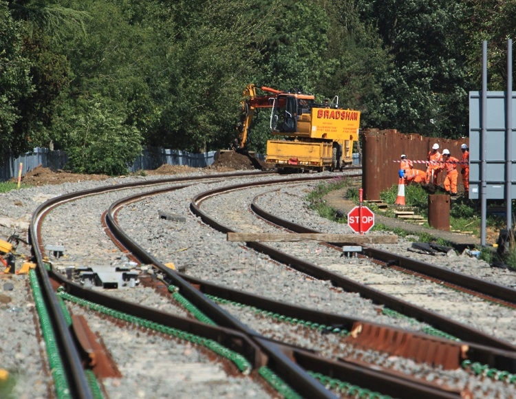 6 Track work continues near Bicester by Phil Marsh
