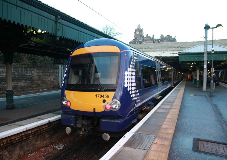 4 Scotrail Class 170 at Edinburgh Phil Marsh