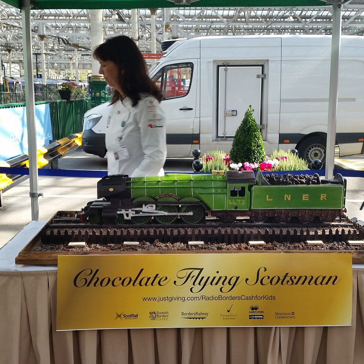 7 edible flying scotsman Allan McClean
