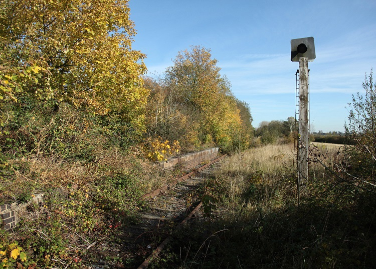 4 Steeple Claydon platform looking east Phil Marsh
