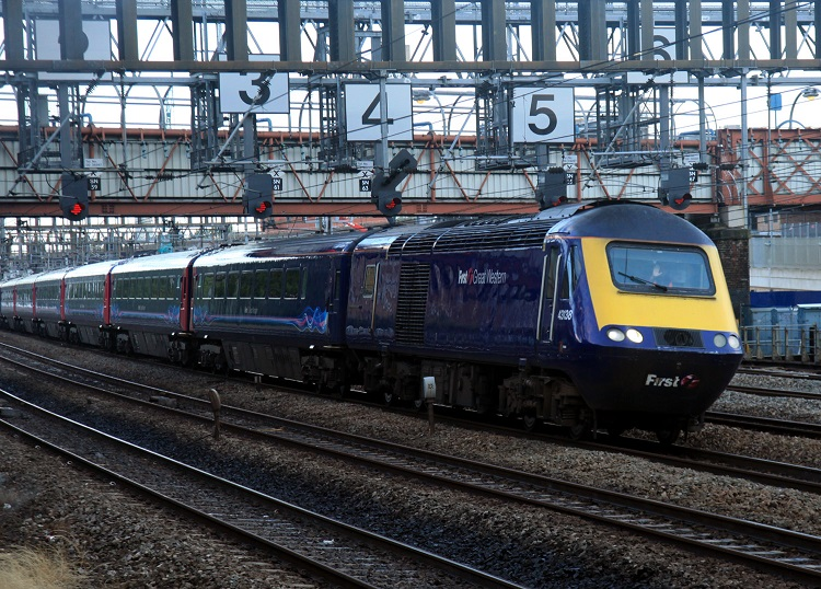 4 A Great Western HST by Phil Marsh