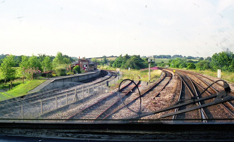 5 Drivers view of the South Devon Railway connection by Phil Marsh
