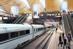 Proposed platforms at Euston by HS2