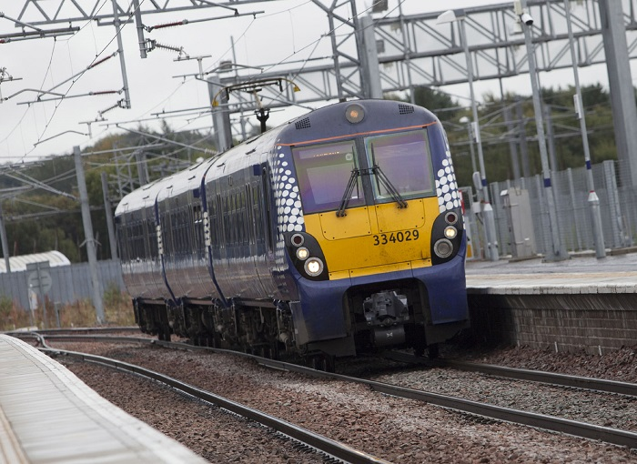 Class 334 at Bathgate - Scotrail