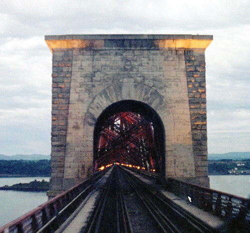 2 Forth Bridge drivers view by Phil Marsh