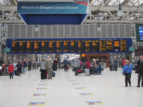 Glasgow Central by Phil Marsh