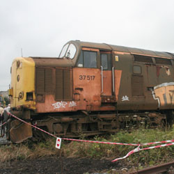Class 37 Diesel at Carnforth