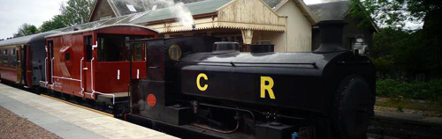 Caledonian Railway by CR