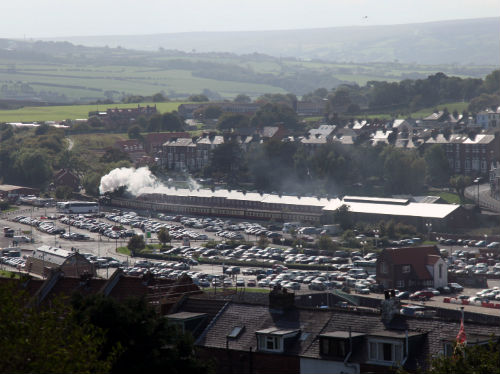 Whitby NYMR departure by Phil Marsh
