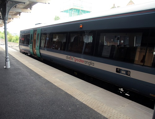 Abellio train at Bury St Edmunds by Phil Marsh