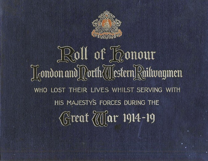 LNWR Roll of honour