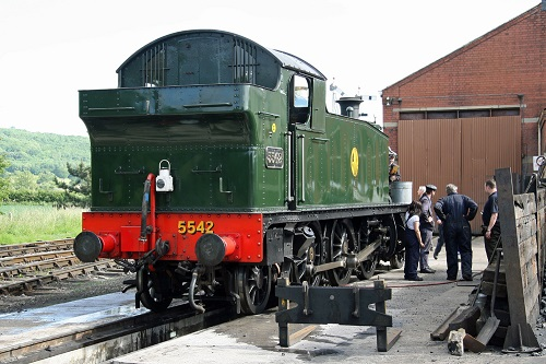 Loco servicing at Toddington