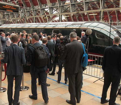 IEP crowds at Paddington