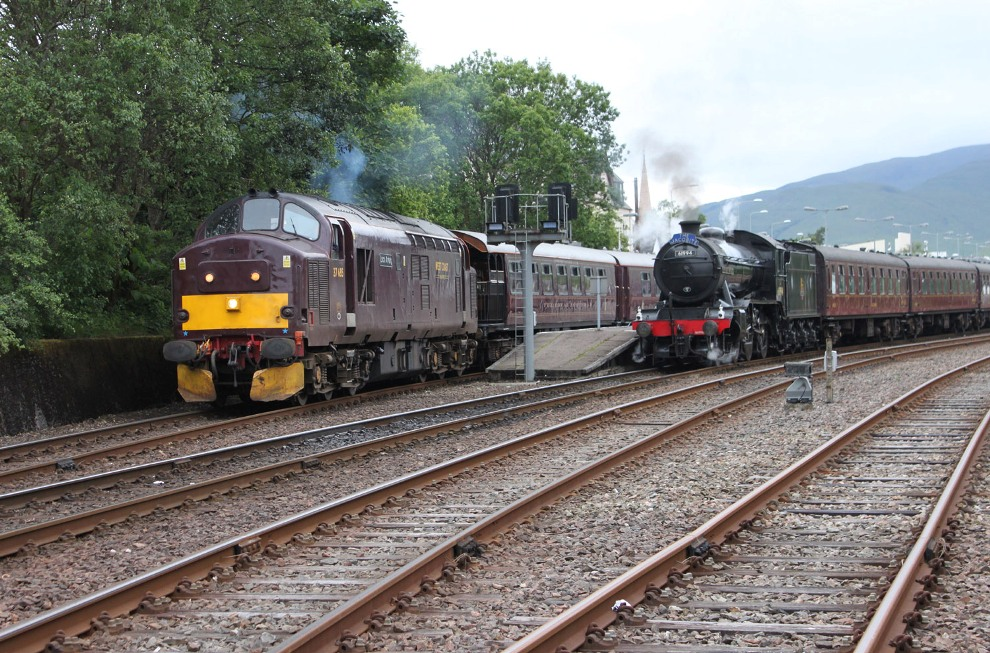 Fort William Royal Scotsman and Jacobite
