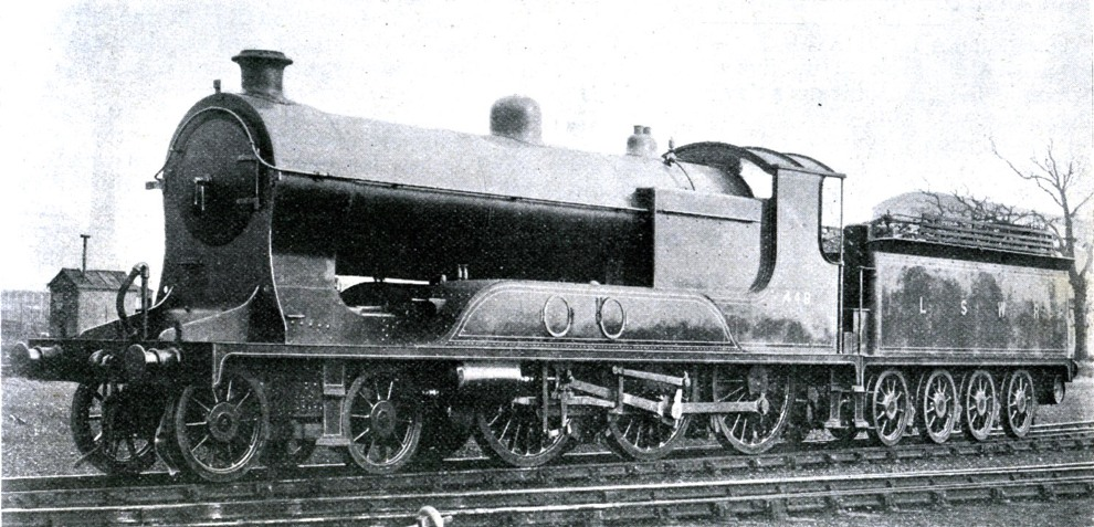 eastleigh first tender loco