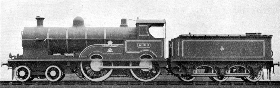 crewe 5000 coronation engine